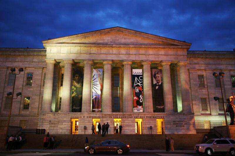 Photo of the Donald W. Reynolds Center for American Art and Portraiture in Washington, DC