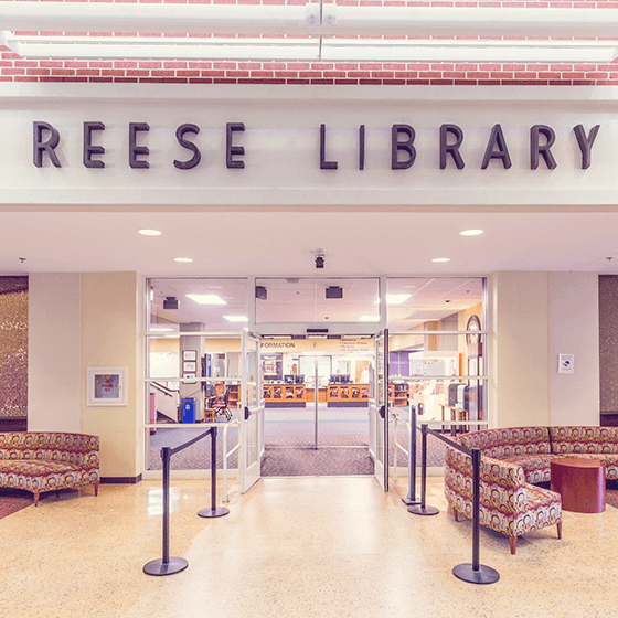 Reese Library Building Front